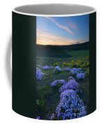 Snowy Phlox Sunset Coffee Mug