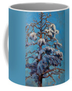Snowy Pine-tree Coffee Mug