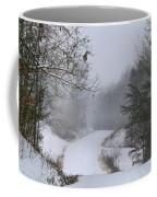 Snowy Road Coffee Mug