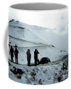 Snowy Switchbacks On Pikes Peak Coffee Mug