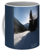 Snowy Track Coffee Mug