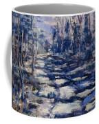 Snowy Trail Coffee Mug
