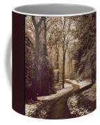 Snowy Woodland Walk One Coffee Mug