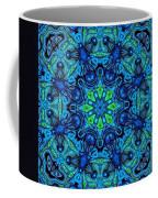 So Blue - 04v2 - Mandala Coffee Mug