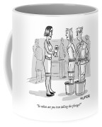 So When Are You Two Taking The Plunge Coffee Mug