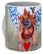 Soap Scene # 12 Sandcastle Shrine Coffee Mug