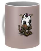 Soccer Saurus Rex Coffee Mug