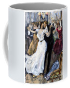 Society Ball, C1900 Coffee Mug