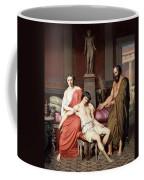 Socrates Chiding Alcibiades Coffee Mug