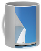 Soft Blue Coffee Mug by Eric Lake