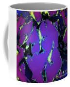 Soft Blue Shatter Coffee Mug