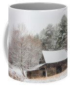 Soft Colors In The Snow Coffee Mug