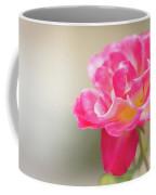 Soft As A Whisper Of A Hot Pink Rose Coffee Mug