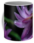 Soft Macro Of Purple Flower Coffee Mug