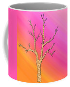 Soft Pastel Tree Abstract Coffee Mug
