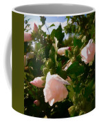 Soft Pink Rose Of Sharon Coffee Mug