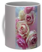 Soft Pink Roses Coffee Mug