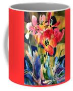 Soft Quilted Tulips Coffee Mug