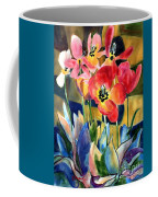 Soft Quilted Tulips Coffee Mug