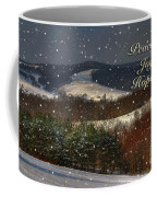 Soft Sifting Christmas Card Coffee Mug by Lois Bryan
