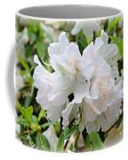 Soft White Azaleas Coffee Mug