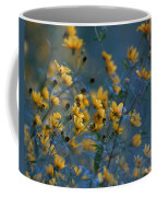 Softly Yellow And Blue Coffee Mug