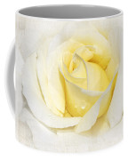 Softly Yellow Rose Coffee Mug