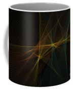 Soil Computer Graphic Line Pattern Coffee Mug