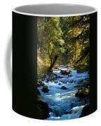 Sol Duc River Above The Falls - Washington Coffee Mug