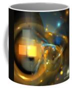 Solar Blue Stars Coffee Mug