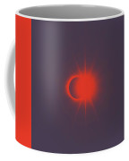 Solar Eclipse, Diamond Ring 2b Coffee Mug