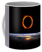 Solar Eclipse From Above The Earth 2 Coffee Mug