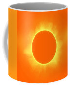 Solar Eclipse In Daffodil Color Coffee Mug