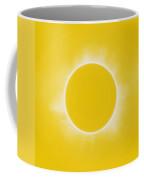 Solar Eclipse In Lemon Colors Coffee Mug