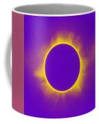 Solar Eclipse In Purple Coffee Mug