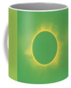 Solar Eclipse In Spring Green Color Coffee Mug