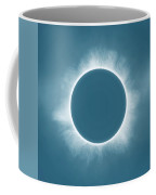 Solar Eclipse In Stormy Sky Color Coffee Mug