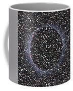 Solar Eclipse In Totality 5 Aboriginal Dotted Art Style Coffee Mug