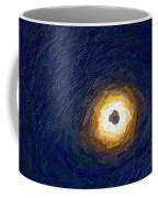 Solar Eclipse In Totality Painting Coffee Mug