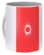 Solar Eclipse, Saros Cycle In Red Candy Color Coffee Mug