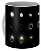 Solar Eclipse Sequence 2017 Coffee Mug