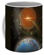 Solar Message Coffee Mug by Corey Ford