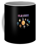 Solar System Planets Coffee Mug