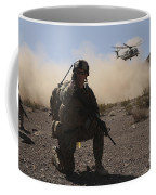 Solders Are Inserted By A Ch-53 Super Coffee Mug