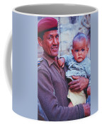 Soldier And Baby Coffee Mug