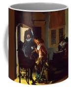 Soldiers Beside A Fireplace 1632 Coffee Mug