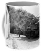 Soldiers Move Through A Smoke Filled Coffee Mug
