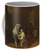 Soldiers Taking Plunder Coffee Mug