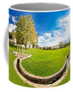 Solin Park And Church Panoramic View Coffee Mug