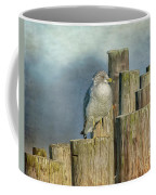 Solitary Gull Coffee Mug